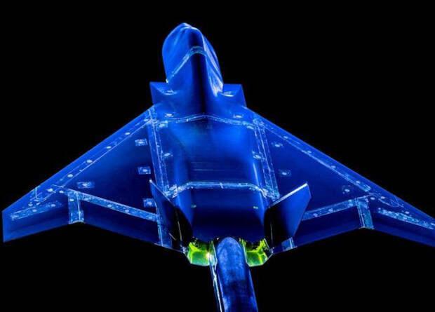 Британцы испытали модель истребителя шестого поколения в аэродинамической трубе
