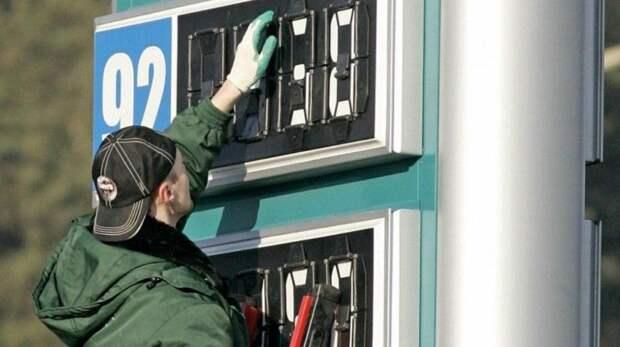 Цена бензина, как линия горизонта