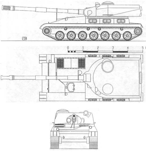 «Таран» против «Дракона». Почему Советская Армия не получила 152-мм противотанковую САУ