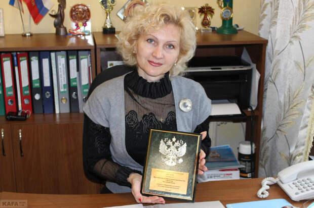 Анжела Сердюкова – и.о. Главы феодосийского муниципалитета (фото: газета «Кафа»)