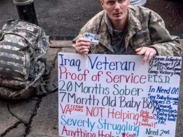 О жизни американских армейских ветеранов в США