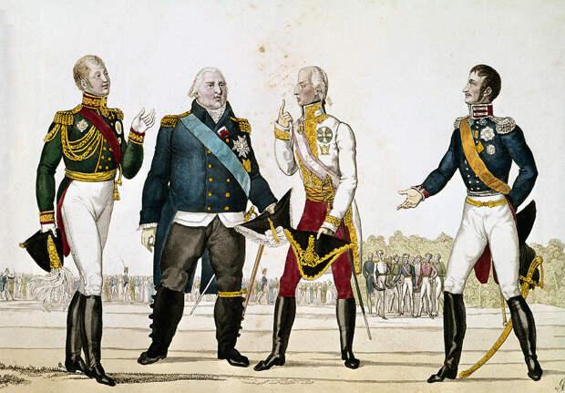 Как французский король дважды бежал из России