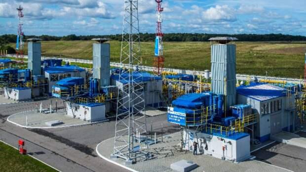 «Газпром» намерен накопить рекордный объем голубого топлива в подземных хранилищах