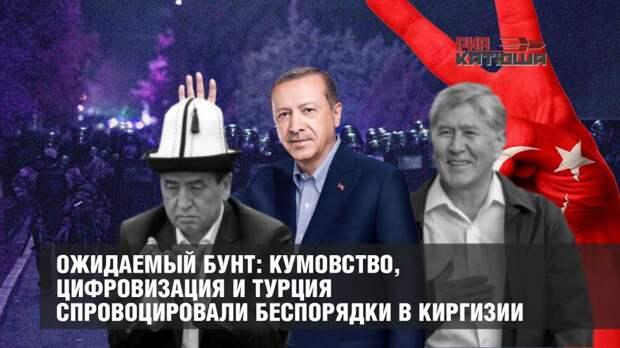 Ожидаемый бунт: кумовство, цифровизация и Турция спровоцировали беспорядки в Киргизии