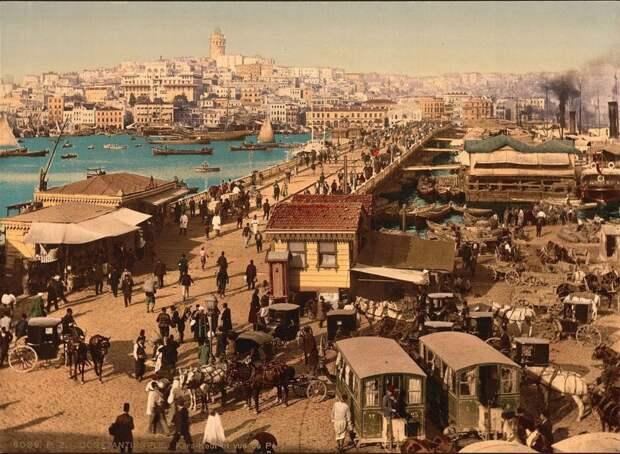 Турецкие пейзажи и жизнь более, чем 100 лет назад.
