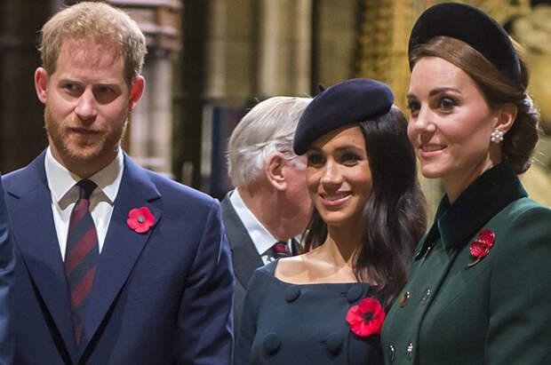 Кейт Миддлтон прокомментировала рождение дочери Меган Маркл и принца Гарри