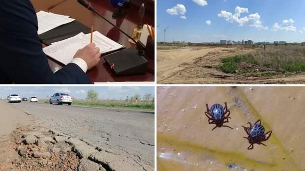 Строительство новой дороги в Оренбурге и подарок для школьников: итоги дня