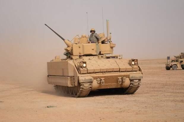США перебросят боевые машины пехоты Bradley на северо-восток Сирии