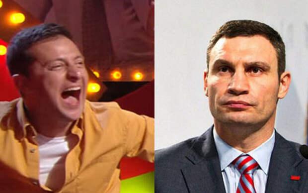 Зеленский натравил СБУ на Кличко – он его потенциальный конкурент