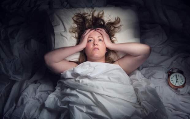 Бессонница от стресса