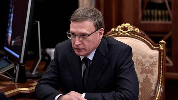 Омский губернатор пригрозил послать чиновников на «заготовку леса» после крупного пожара