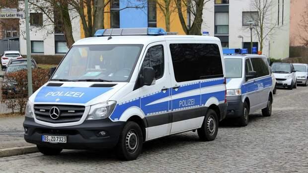 Автомобили полиции Германии - РИА Новости, 1920, 04.09.2020