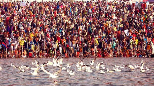 Фестиваль Кумбха Мела - 2013.