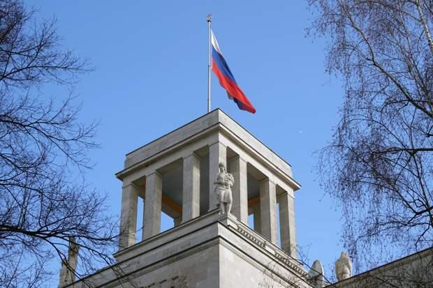 Посольство России в Берлине готовится к Дню Победы