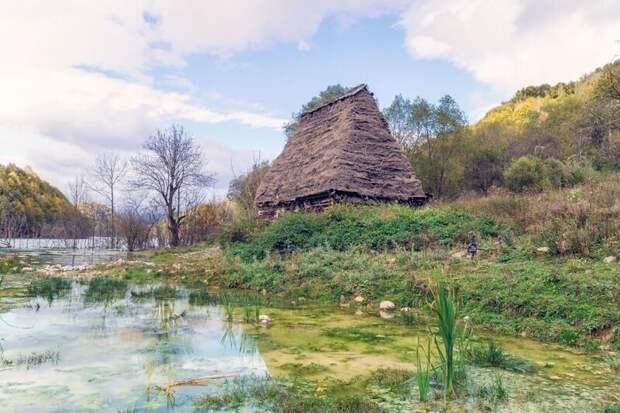 Джамана — деревня под водой