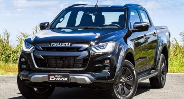 Фирма Isuzu представит кроссовер D-Max V-Cross и Hi-Lander в мае