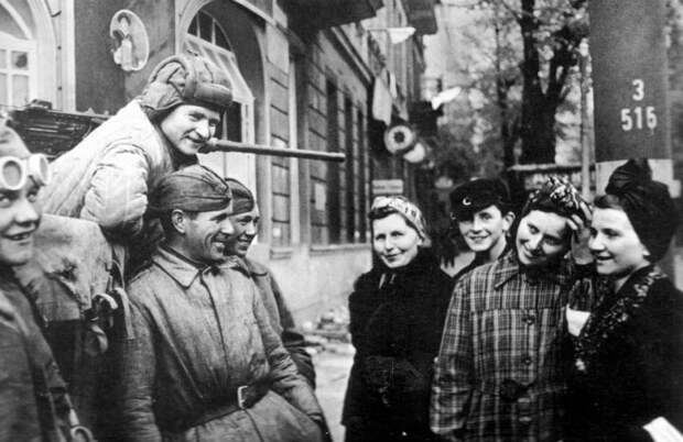 Чем жители Европы удивили солдат Красной Армии