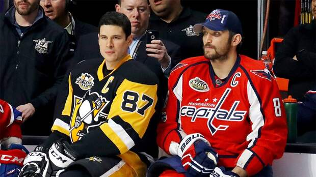 Кросби обогнал Овечкина в списке лучших бомбардиров в истории НХЛ