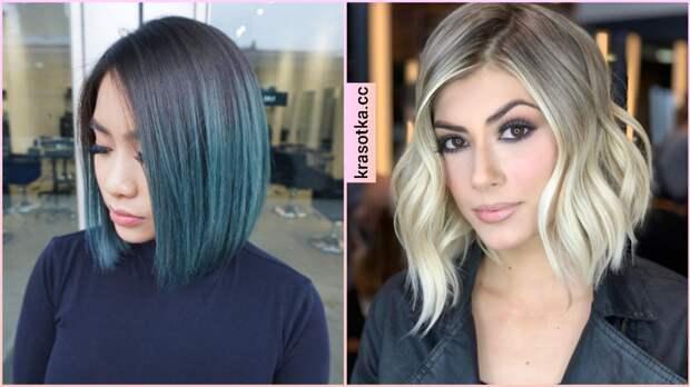 Растяжка цвета на волосах: все виды окрашивания (+40 фото)