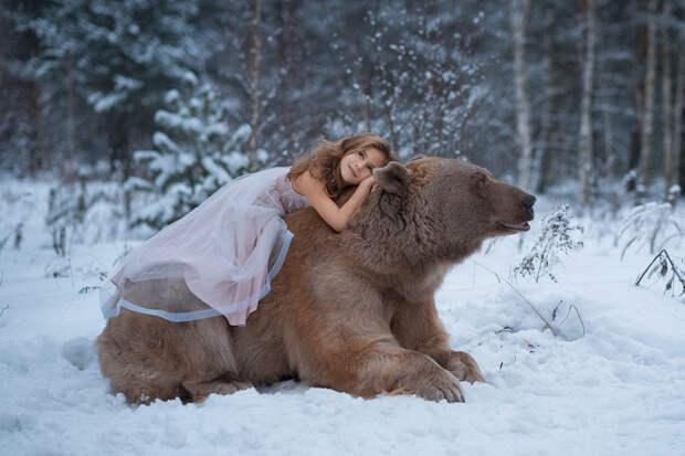 Фотограф Ольга Баранцева. Фотосессии с дикими животными и творческие портреты 9