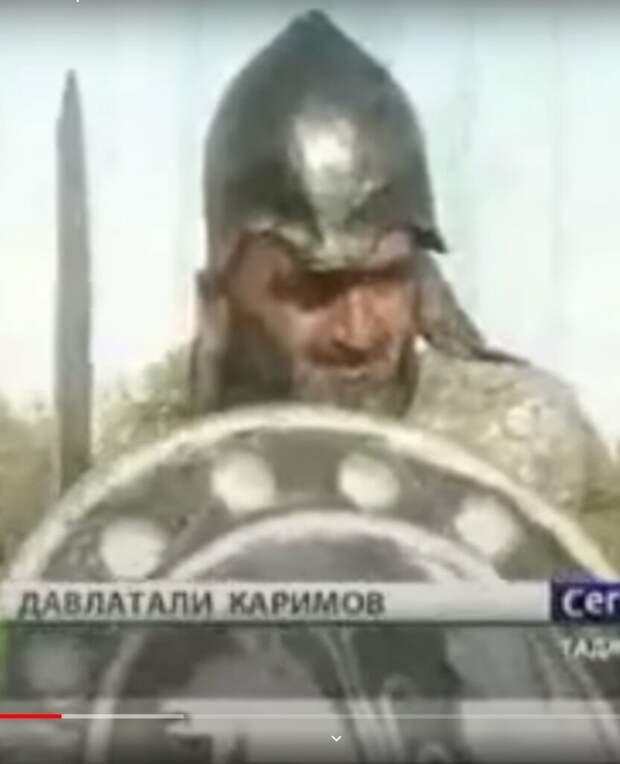 Участник шествия богатырей в Таджикистане. Кому интересно ищите.
