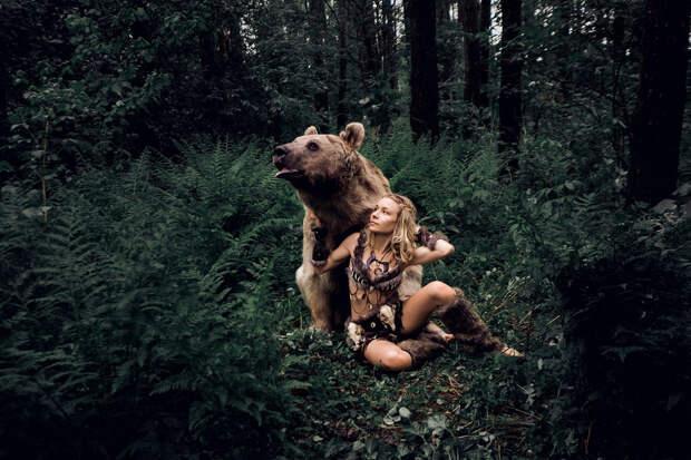 Фотограф Ольга Баранцева. Фотосессии с дикими животными и творческие портреты 5