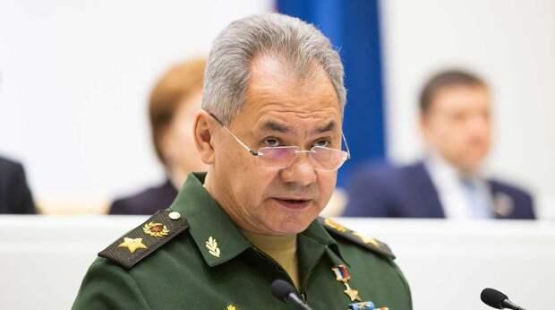 Шойгу выводит войска с юга России