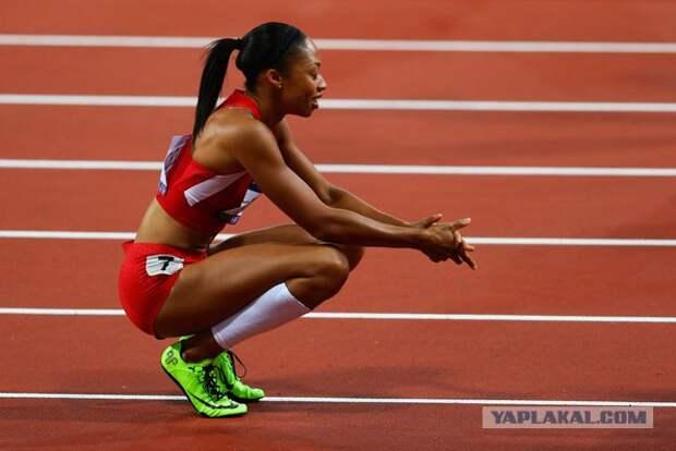 Команда США получит вторую попытку для попадания в финал женской эстафеты 4х100
