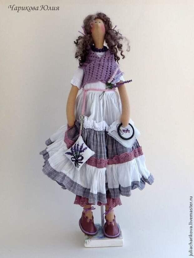 Яркие и очаровательные куклы Тильды в стиле бохо Юлии Чариковой - это любовь с первого взгляда