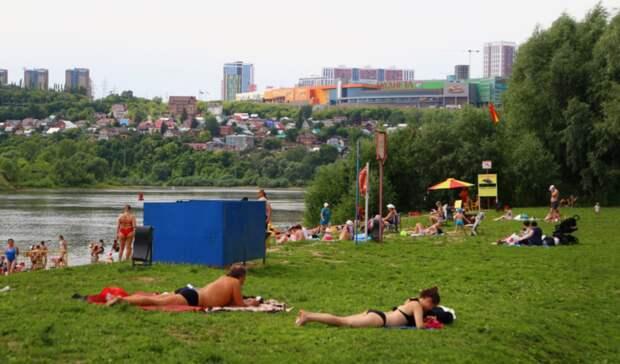 В администрации Уфы озвучили планы по созданию новых официальных пляжей