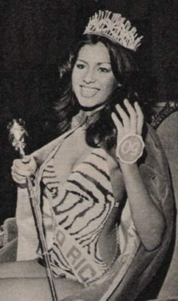 пуэрториканка Вильнелия Мерсед Мисс мира 1975 Фото / Wilnelia Merced (Puerto Rico) Miss World 1975 Photo