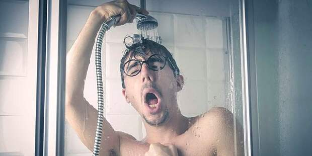 Если хочешь быть здоров— закаляйся, нонелетом под холодным душем
