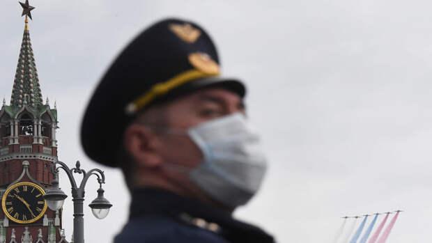 В Кремле не исключили изменений воздушной части парада Победы из-за погоды