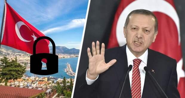 Турция закрывается изнутри, полностью прекращая туризм: всё идёт к катастрофе