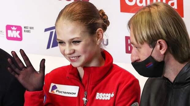 Трусова — о целях на новый сезон: «Отобраться на Олимпиаду, прыгнуть пять четверных и скрутить аксель в короткой»