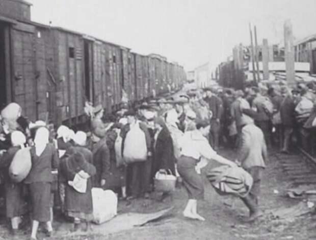 Угон граждан СССР в Германию.