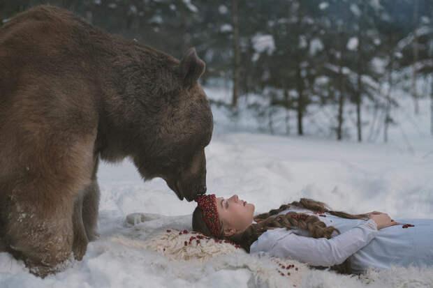 Фотограф Ольга Баранцева. Фотосессии с дикими животными и творческие портреты 10