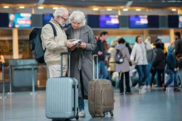 Пенсионеры нового поколения путешествуют