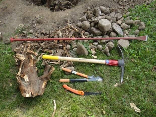 Инструменты для корчевания