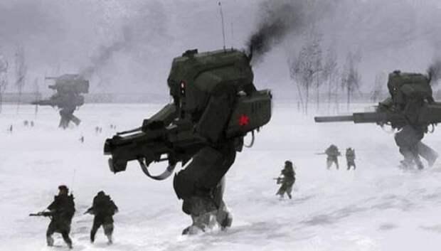Россия создала боевых роботов с искусственным интеллектом