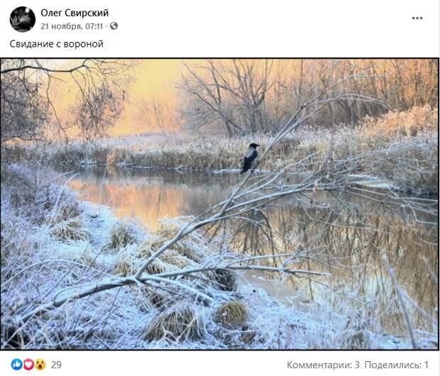 Фото дня: житель запечатлел зимнюю Яузу