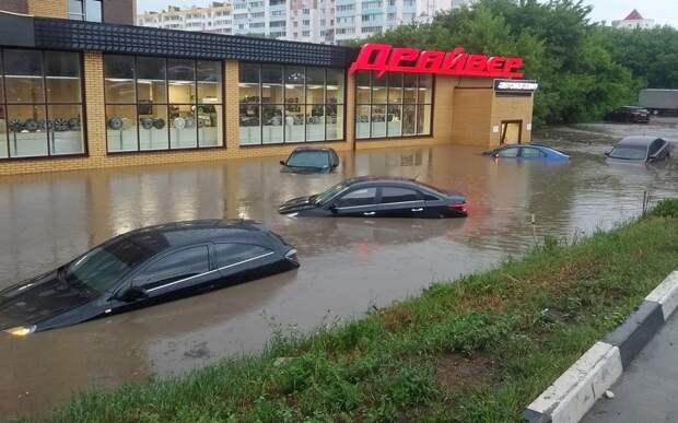 Мэрия Рязани объявила о начале откачки воды с затопленных улиц
