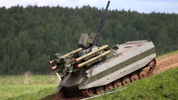 Эксперты предсказали светлое будущее новейшим российским боевым роботам