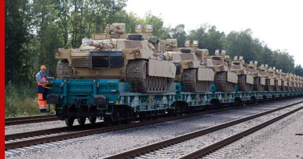 Минобороны Белоруссии заявило о переброске из США в Литву танкового батальона