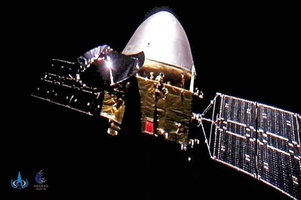 Китайский зонд «Тяньвэнь-1» совершил успешную посадку на Марсе