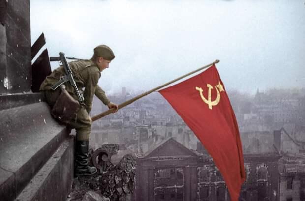 С Днём Победы над фашистской Германией!