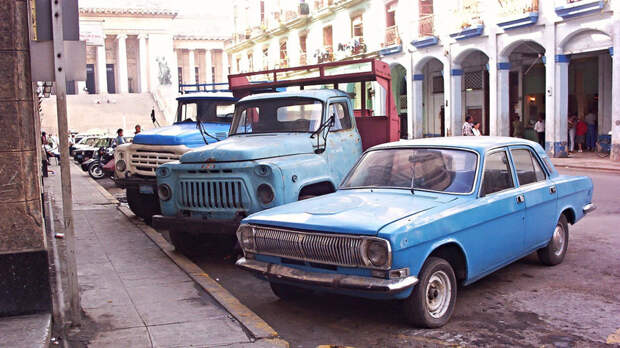 «Жигули» на кокосе. За что на Кубе любят советскую технику