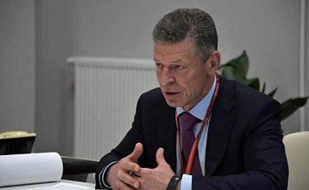 Украина испугалась предупреждений Козака