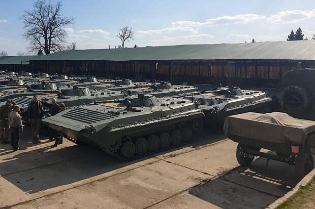 Украинская армия получит старые польские БМП-1 по сделке 2016 года