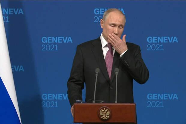 О большом сливе Путина Байдену